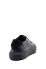 5638203993 Erkek Deri Baskılı Sneaker