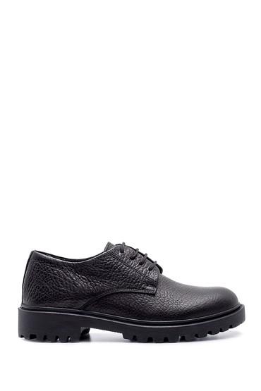 Siyah Erkek Deri Ayakkabı 5638204087