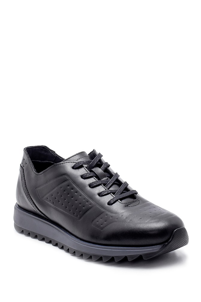 5638204381 Erkek Deri Sneaker