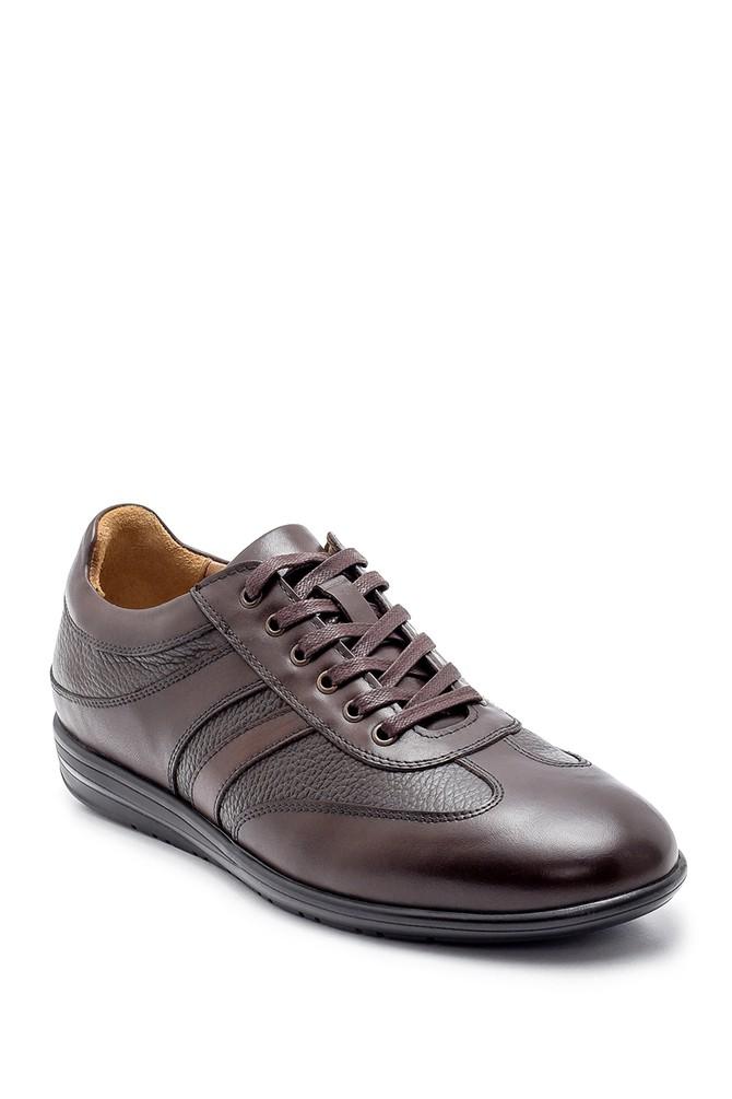 5638204406 Erkek Deri Sneaker