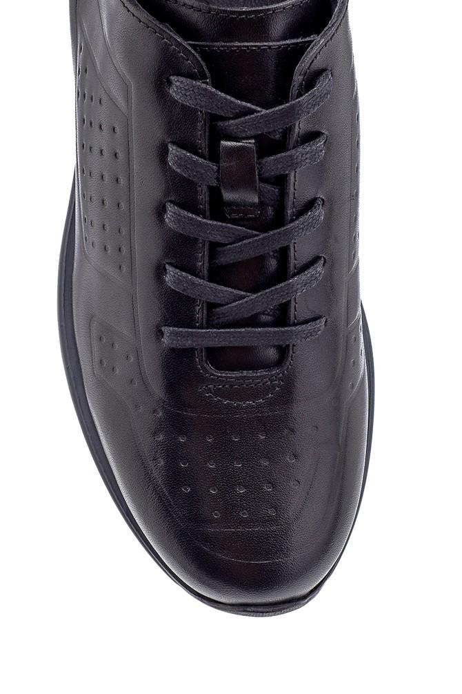 5638204375 Erkek Deri Sneaker