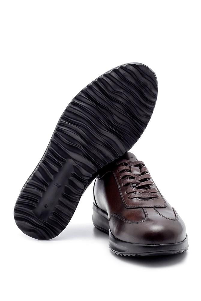 5638204434 Erkek Deri Sneaker