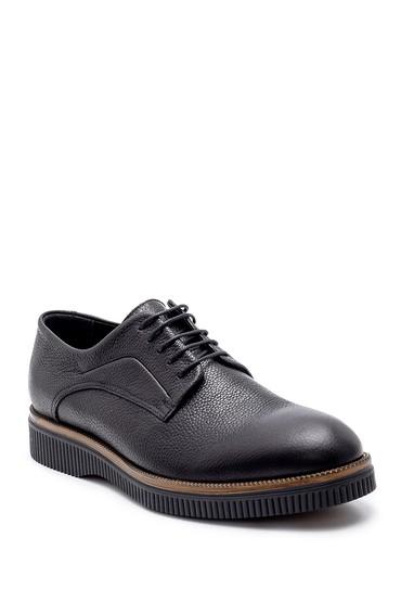 Siyah Erkek Deri Klasik Ayakkabı 5638204646