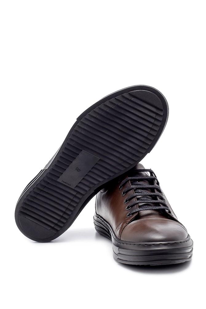 5638208538 Erkek Deri Sneaker