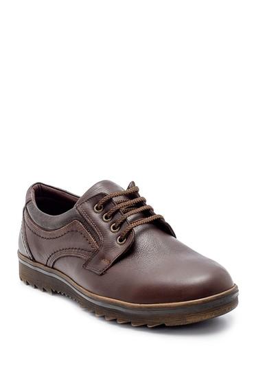 Kahverengi Erkek Deri Casual Ayakkabı 5638209286