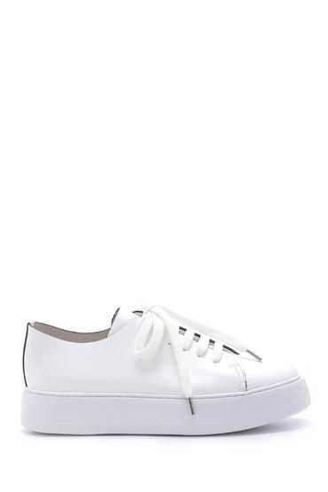 Beyaz Erkek Deri Ayakkabı 5638158005