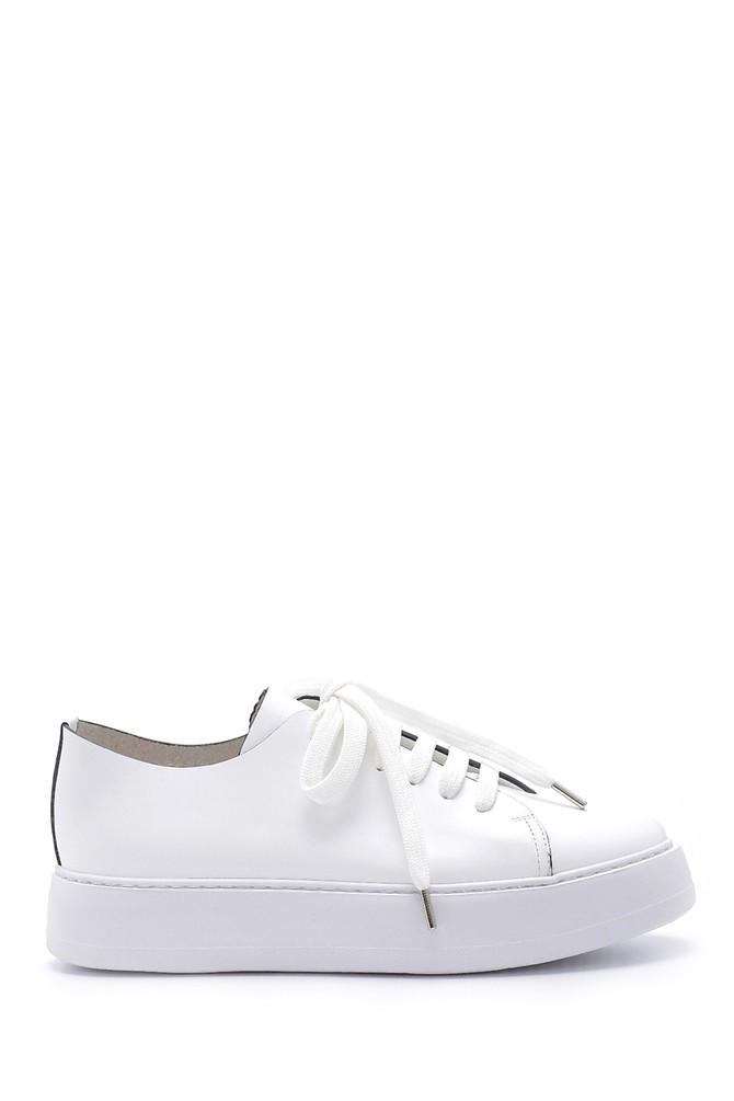 Beyaz Erkek Deri Ayakkabı 5638158025