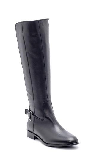 Siyah Kadın Deri Çizme 5638178147