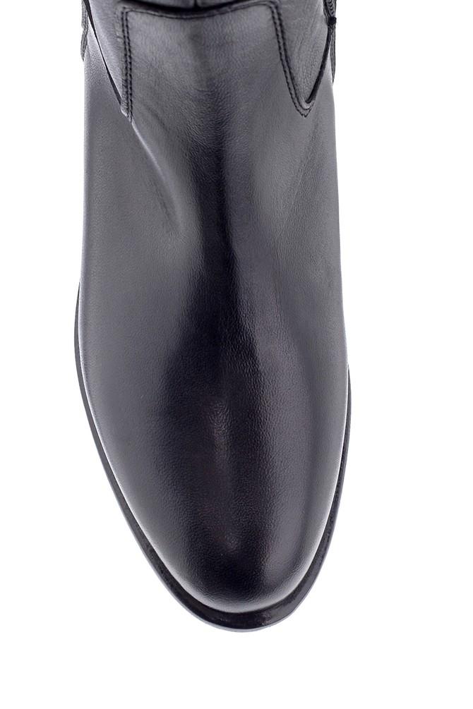 5638178147 Kadın Deri Çizme