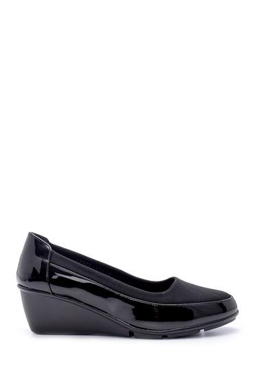 Siyah Kadın Dolgu Topuklu Ayakkabı 5638199405