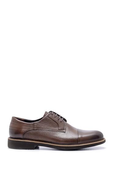 Kahverengi Erkek Deri Ayakkabı 5638203295