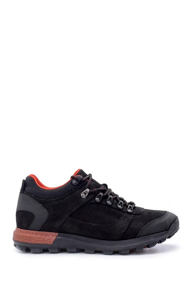 Siyah Erkek Nubuk Sneaker 5638204708