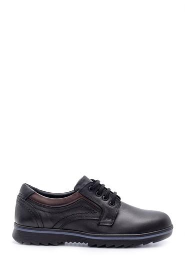 Siyah Erkek Deri Casual Ayakkabı 5638209284