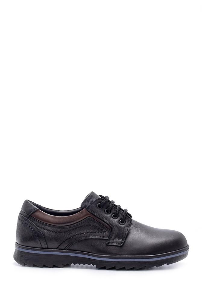 Siyah Erkek Deri Casual Ayakkabı 5638209304