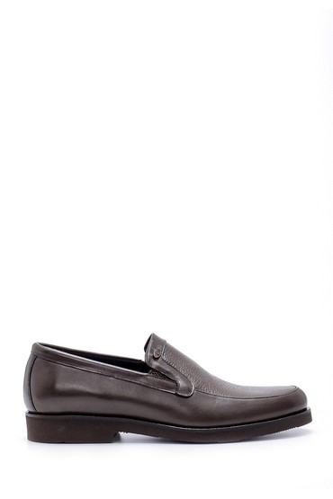 Kahverengi Erkek Deri Ayakkabı 5638209777