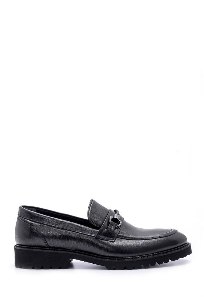 Siyah Erkek Deri Ayakkabı 5638209891