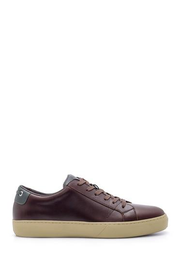 Kahverengi Erkek Deri Sneaker 5638210906