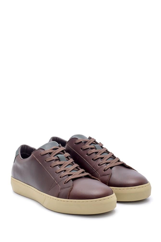 5638210906 Erkek Deri Sneaker