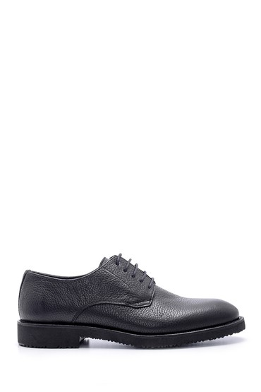 Siyah Erkek Deri Klasik Ayakkabı 5638211910