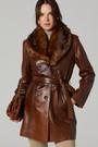 5638142302 New Alexandra Kadın Deri Ceket