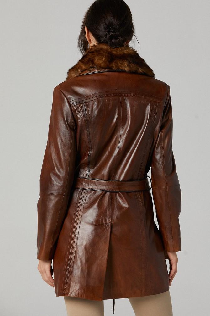 5638142298 New Alexandra Kadın Deri Ceket