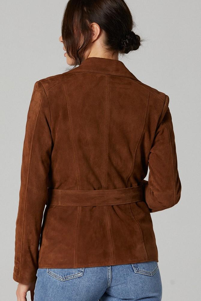 5638178695 Mayfair Kadın Süet Deri Ceket