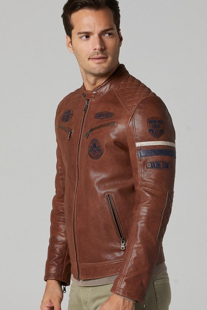 5638180334 Bandito Erkek Deri Ceket