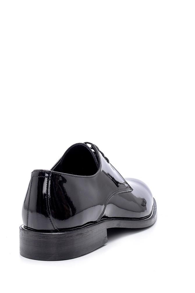 5638162824 Erkek Yılan Derisi Detaylı Loafer