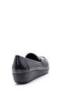 5638199367 Kadın Yılan Derisi Desenli Ayakkabı