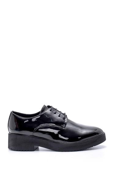 Siyah Kadın Rugan Ayakkabı 5638199480