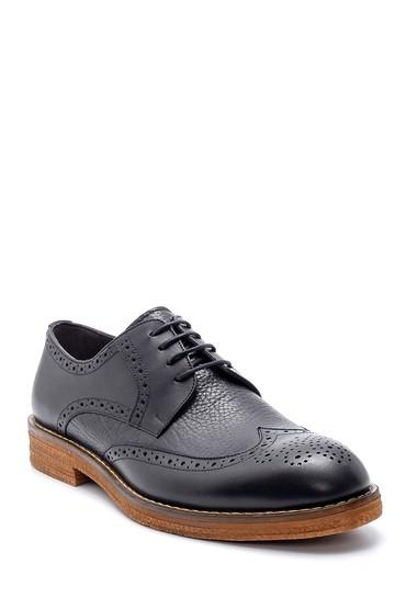 Siyah Erkek Deri Klasik Ayakkabı 5638199818