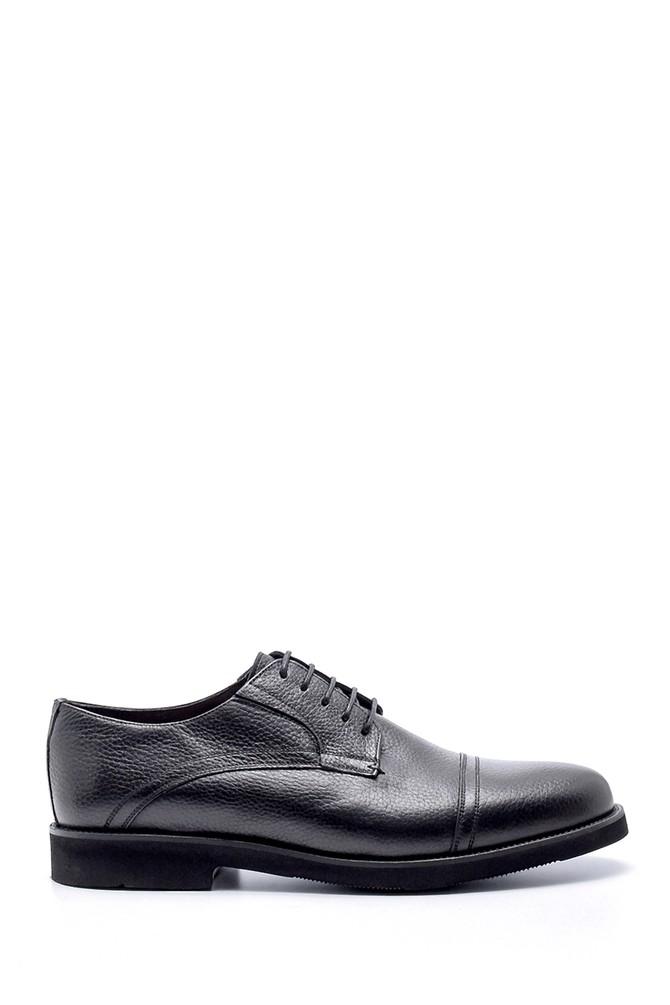 Siyah Erkek Deri Klasik Ayakkabı 5638200051