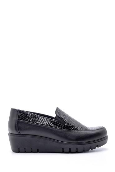 Siyah Kadın Dolgu Topuklu Ayakkabı 5638202448