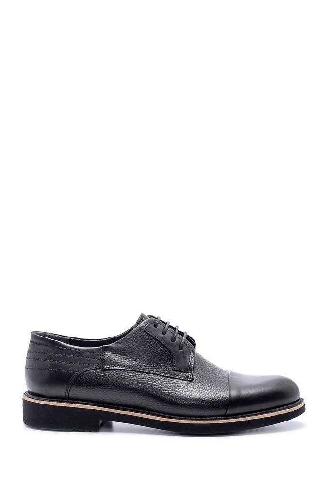Siyah Erkek Deri Ayakkabı 5638203305