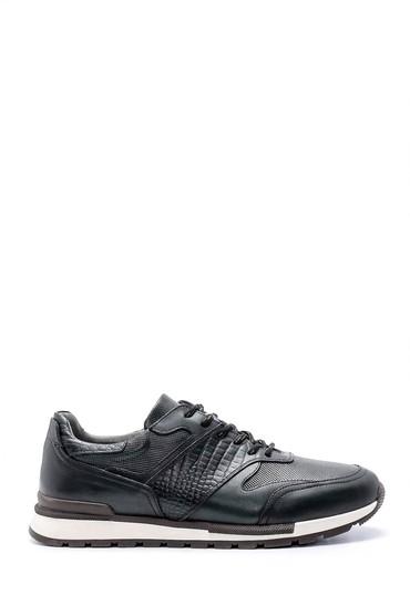 Yeşil Erkek Deri Sneaker 5638204527