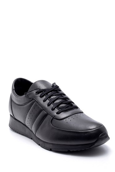 Siyah Erkek Deri Sneaker 5638207740