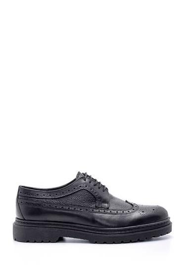 Siyah Erkek Deri Casual Ayakkabı 5638210940