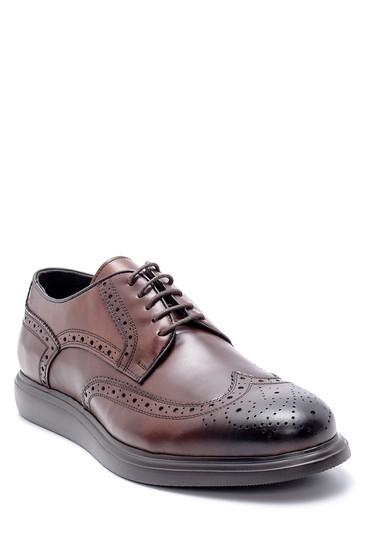Kahverengi Erkek Deri Klasik Ayakkabı 5638212342