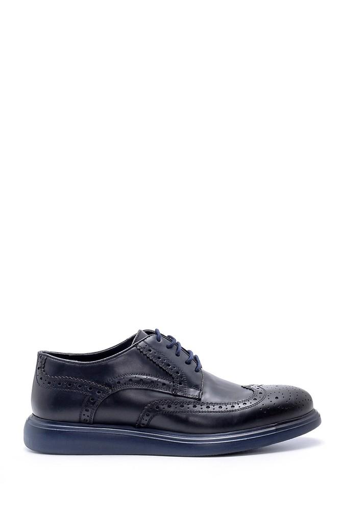 Lacivert Erkek Deri Klasik Ayakkabı 5638212344
