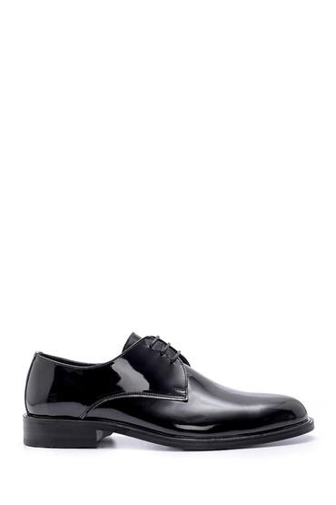 Siyah Erkek Yılan Derisi Detaylı Loafer 5638162816