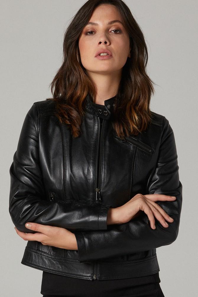5638167954 Kylie - X Kadın Deri Ceket