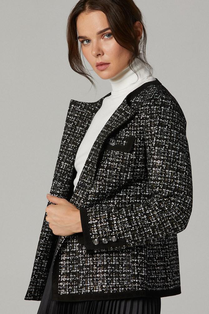 5638180354 Napoli Kadın Deri Ceket