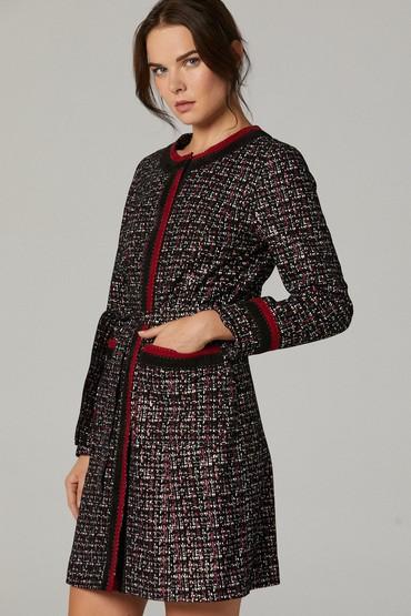 Siyah Amalfi Kadın Deri Ceket 5638180363