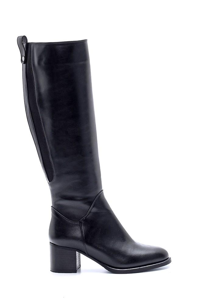 Siyah Kadın Topuklu Çizme 5638183813
