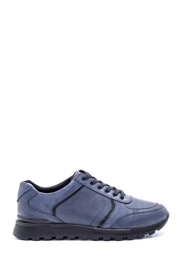Gri Erkek Deri Sneaker 5638197188