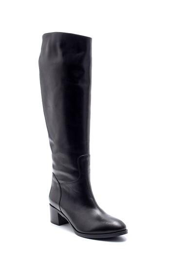 Siyah Kadın Deri Çizme 5638198628