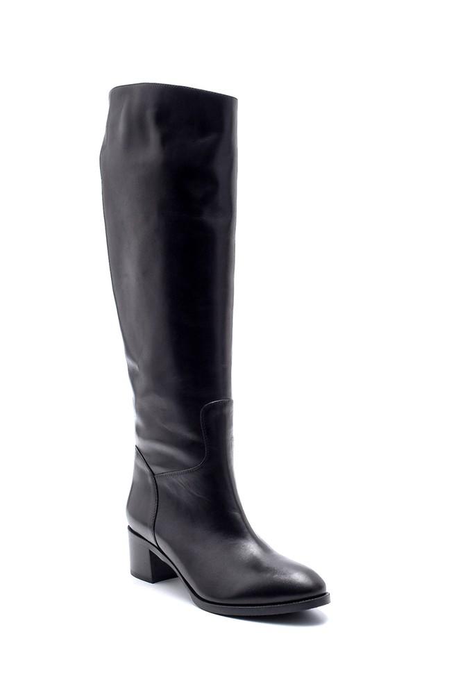 5638198628 Kadın Deri Çizme