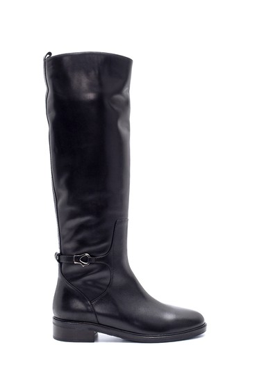 Siyah Kadın Deri Çizme 5638198632
