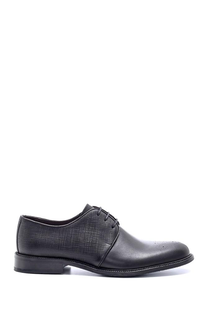 Siyah Erkek Deri Klasik Ayakkabı 5638200111