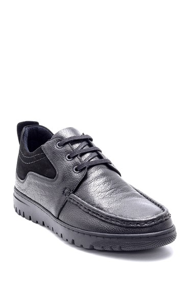 Siyah Erkek Deri Casual Ayakkabı 5638203923